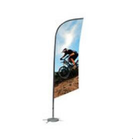 Custom Feather Flag for Store Advertising Display