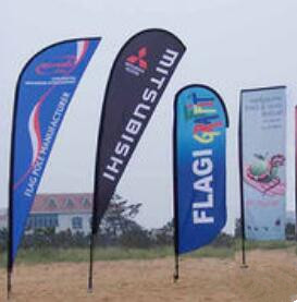 Promotional Feather Flag Flying Sail Flag for Sale