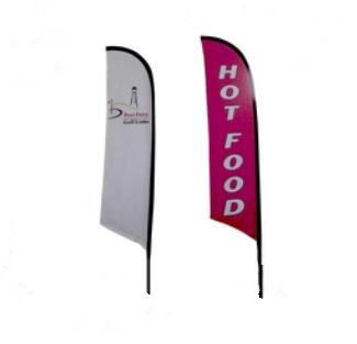 Promotional Gift Items of Feather Flag Advertising Banner